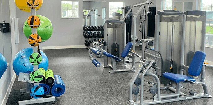 Indoor Fitness element