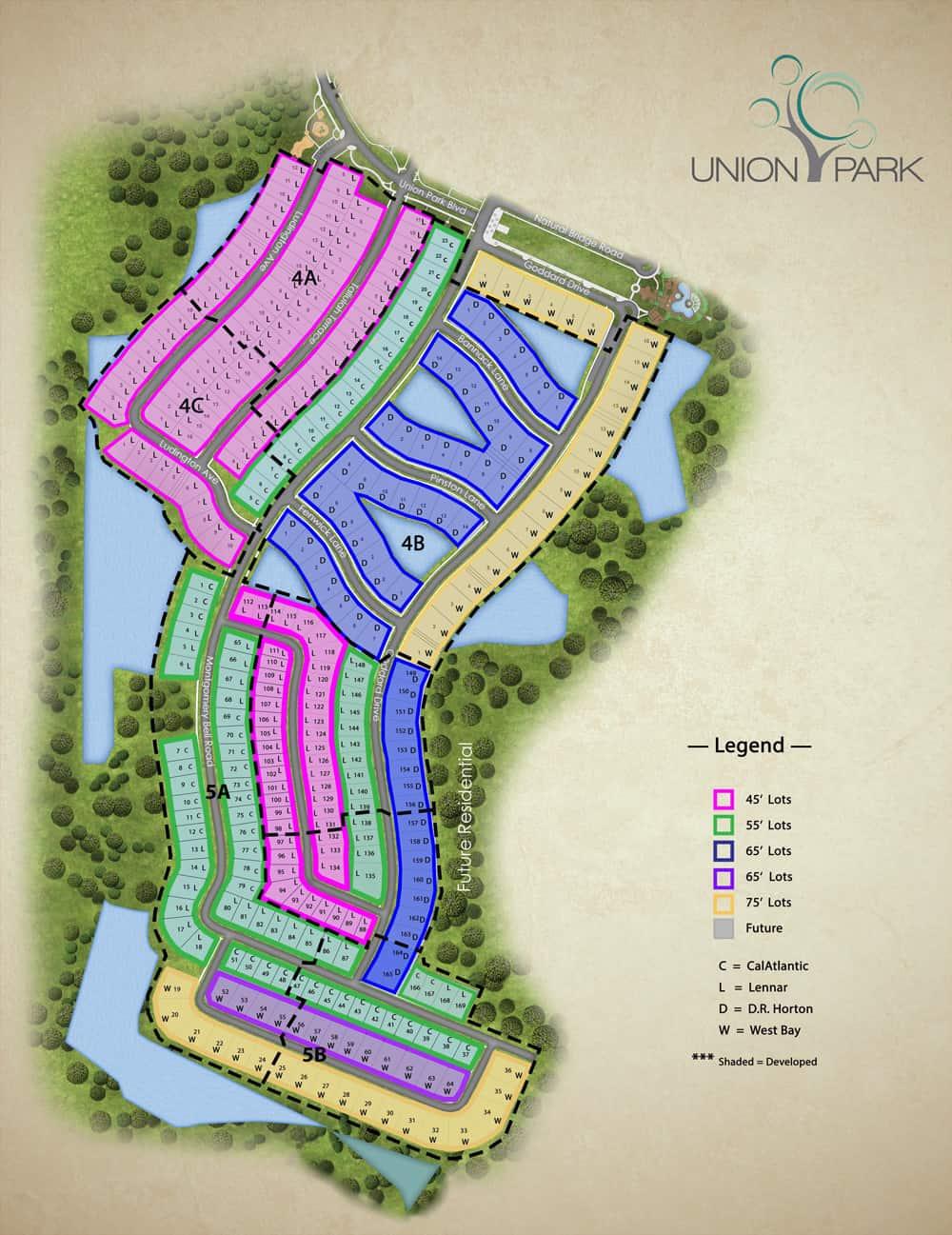 West Site Plan